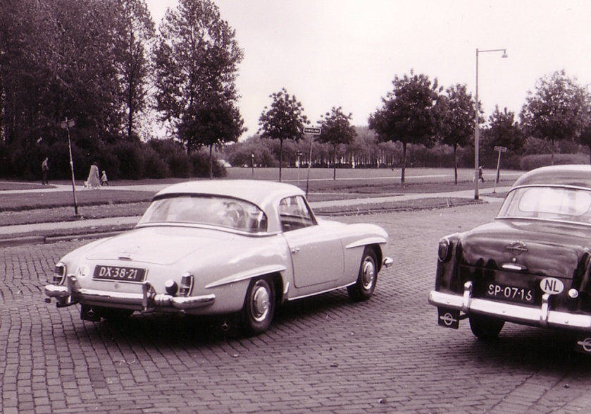 1959 Mercedes-Benz 190 SL DX-38-21