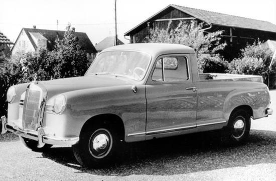 1959 Mercedes Benz 190D