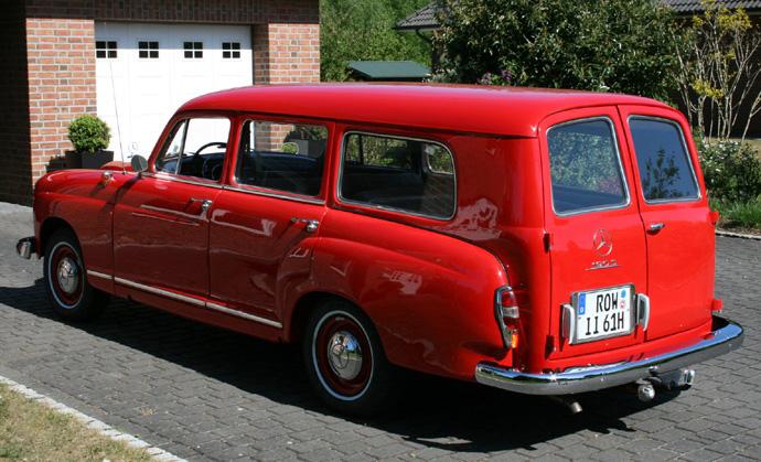 1959 mercedes benz 190Db kombi Ingo Rump Germany