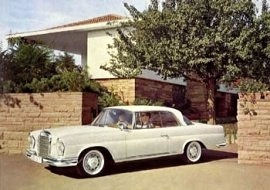 1959 Mercedes-Benz 220 SE Coupe