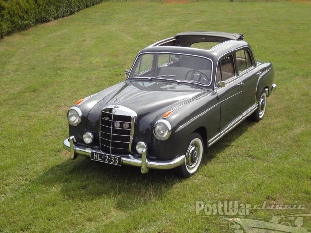 1959 Mercedes-Benz 220S Ponton