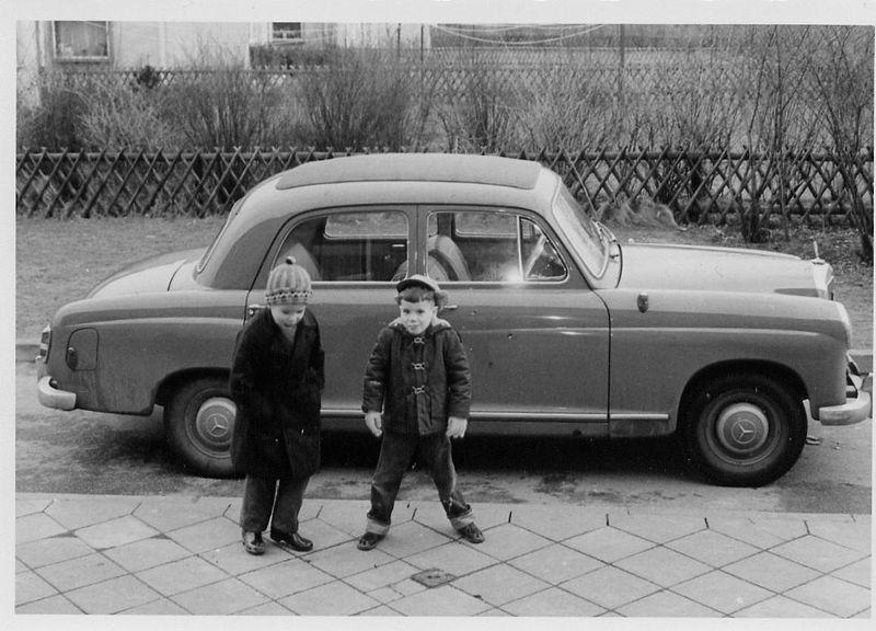 1959 Mercedes-Benz W120 Model 180