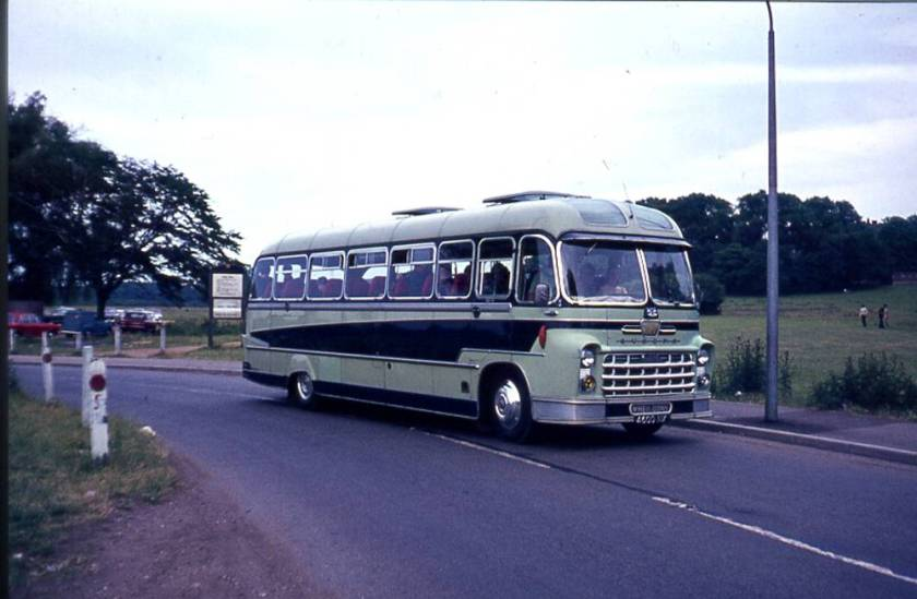 1960 Albion VT17L Victor with Yeates Europa C41F body, 4600NX