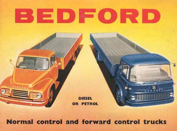 1960 Bedford Heavy-duty Truck Poster