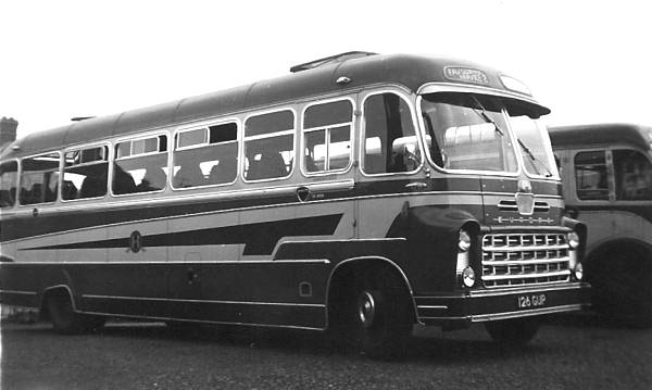 1960 Bedford SB1 with a Yeates C41F body