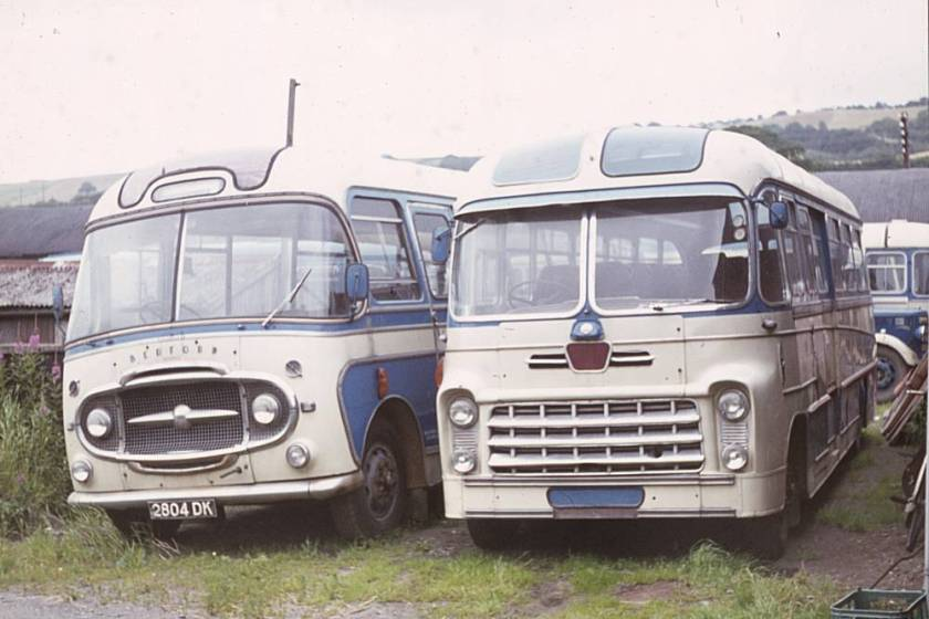 1960 Bedford SB1 with Yeates Europa C41F bodywork