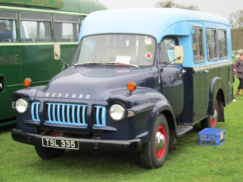 1960 Bedford TJ Minibus
