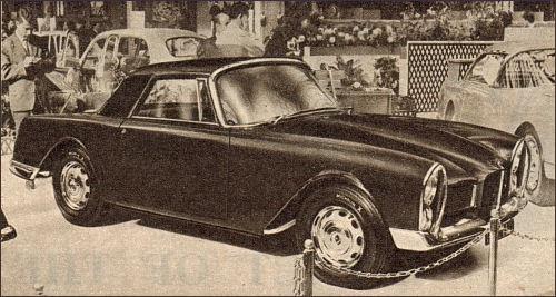 1960 facel vega facellia paris