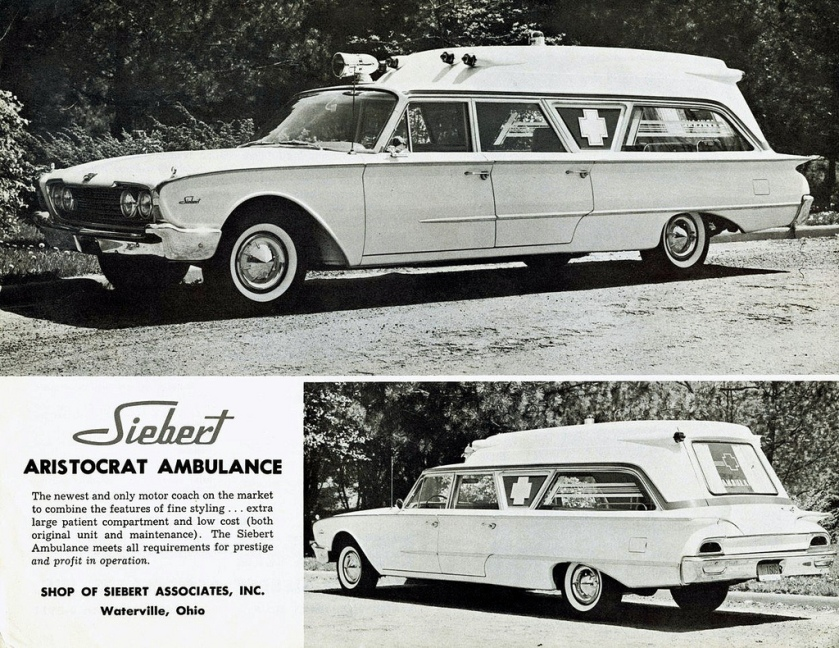 1960 Ford Aristocrat Ambulance by Siebert