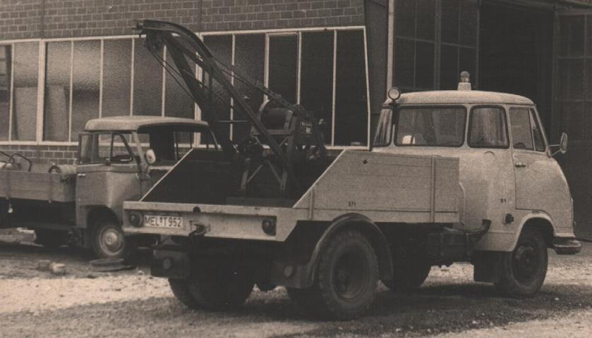 1960 Hanomag Kurier