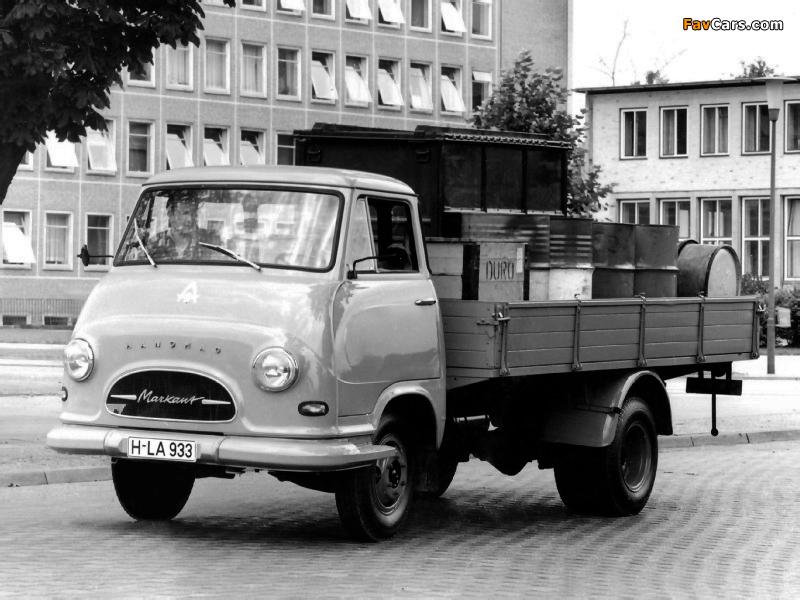 1960 Hanomag Markant Pritschenwagen 1960–67