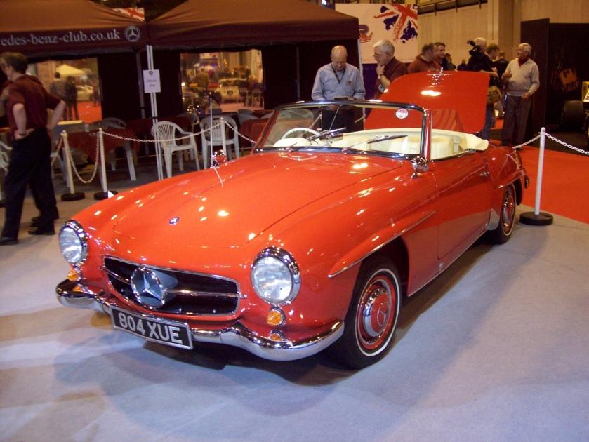 1960 Mercedes 190SL Engine 1897cc S4