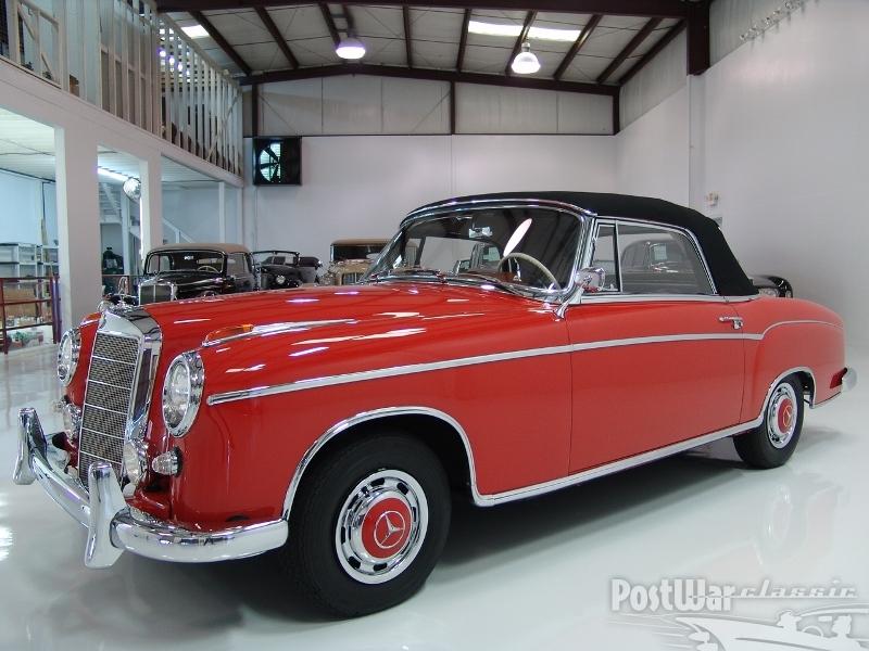 1960 Mercedes 220SE Cabriolet
