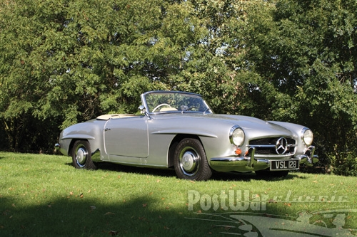 1960 Mercedes  Benz 190 SL Roadster