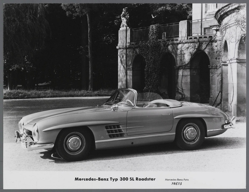 1960 Mercedes-Benz 300 SL Roadster W 196