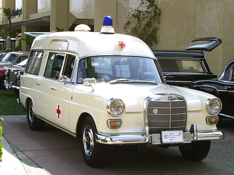 1960 Mercedes Benz Ambulance