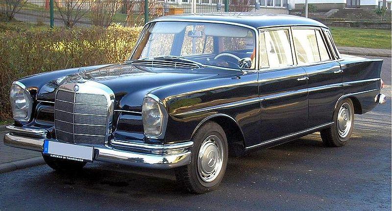 1960 Mercedes-Benz W111 Ilmenau