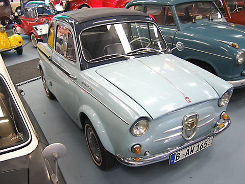 1960 NSU-Fiat Weinsberg 500 Limousette (D)(I)