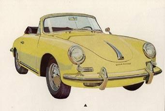 1960 porsche 356b-cabrio
