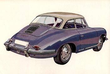 1960 porsche 356b-hardtop