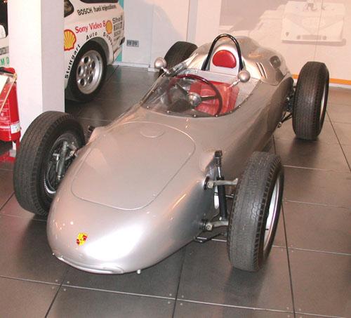 1960 Porsche Typ 718-2 Formel 2 Rennwagen, Porsche Museum, Stuttgart