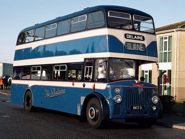 1960 RCT3, a Leyland Titan PD3-1 with Yeates H39-34RD body