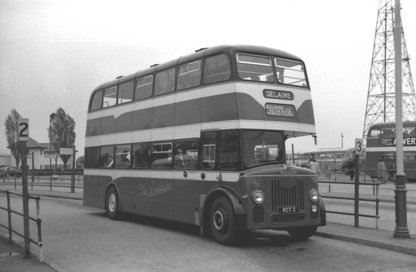 1960 RCT3, was a Yeates H39-34RD bodied Leyland PD3-1