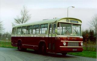 1960 Volvo- ZABO City Coach  BBA 549