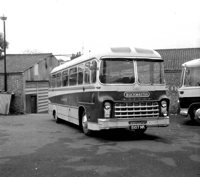 1960 Yeates Europa C41F bodied Bedford SB1