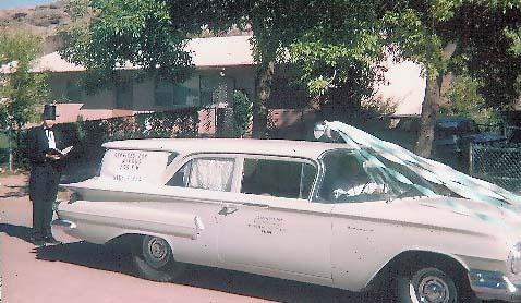 1960's Chevrolet Hearse
