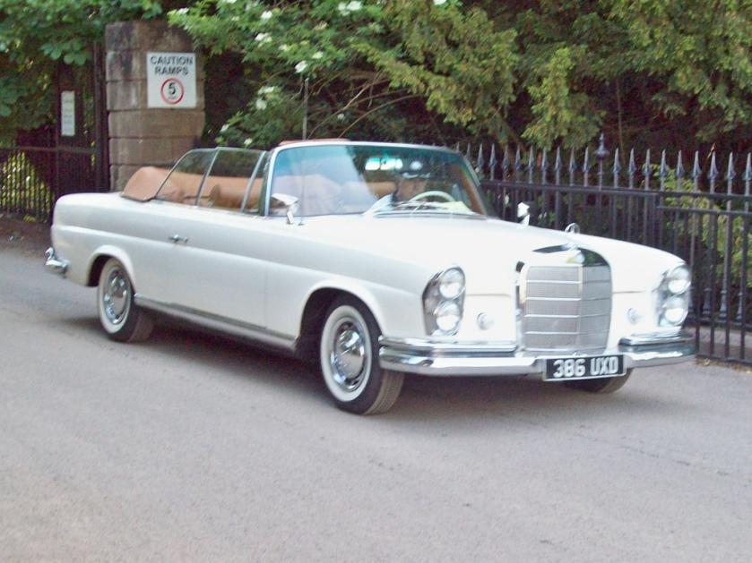 1961-65 Mercedes 220SE Cabriolet Engine 2195cc S6 UXD