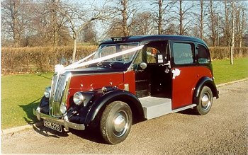 1961 Beardmore mark VII Taxi