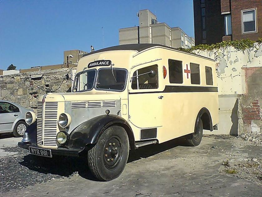 1961 Bedford NYR Ambulance