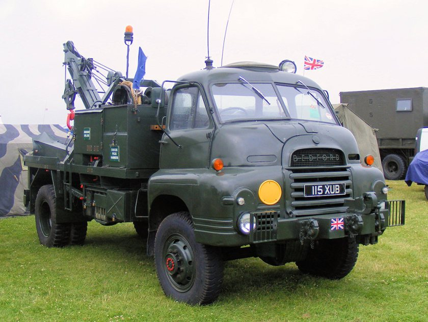 1961 Bedford RL 'Light' Recovery Vehicle