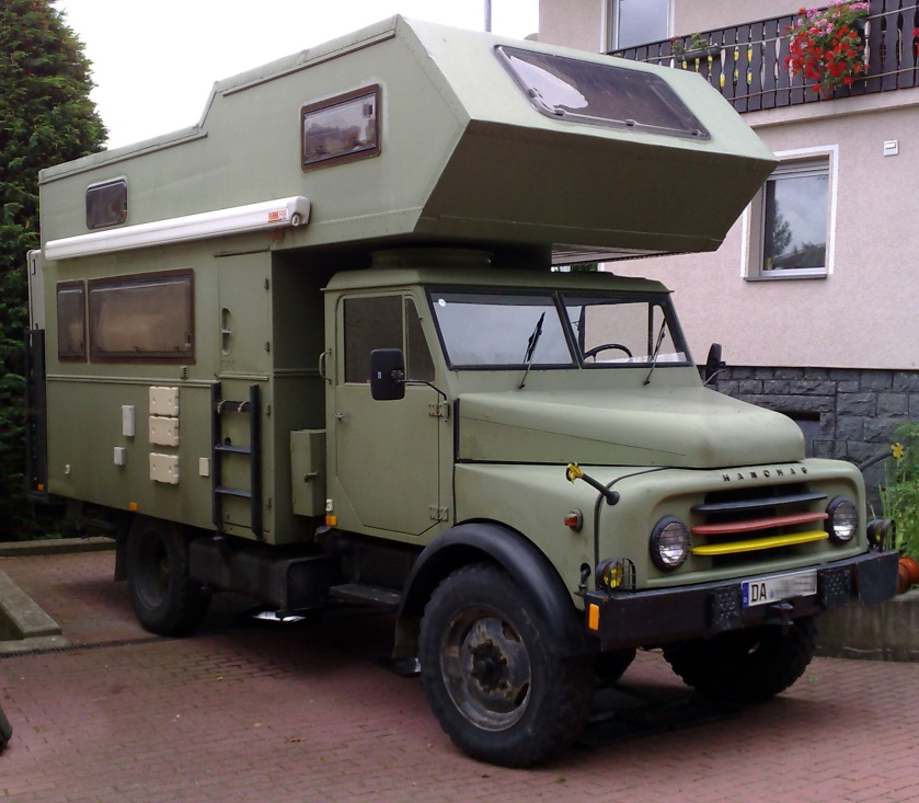 1961 Hanomag AL28 camper (expedition)