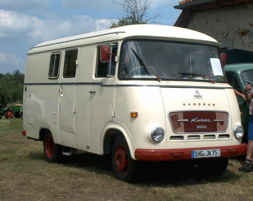 1961 Hanomag Kurier II Diesel