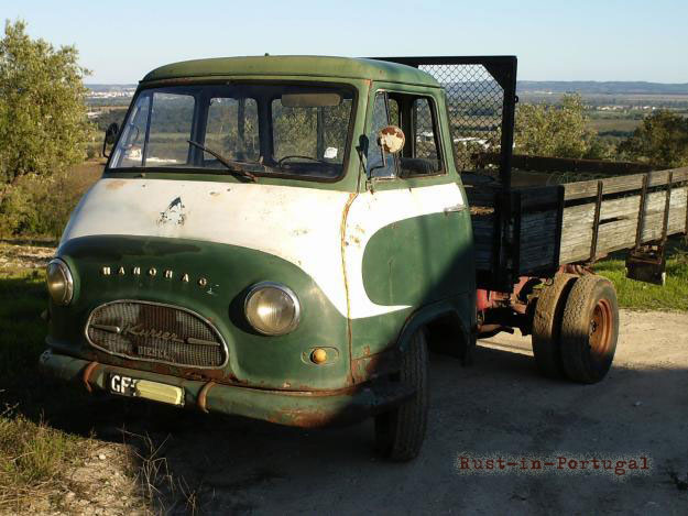 1961 hanomag kurier truck