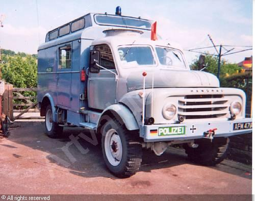 1961 HANOMAG Vehicles, Hanomag Type AL28 4x4 Command-Radio Vehicle, Bonhams