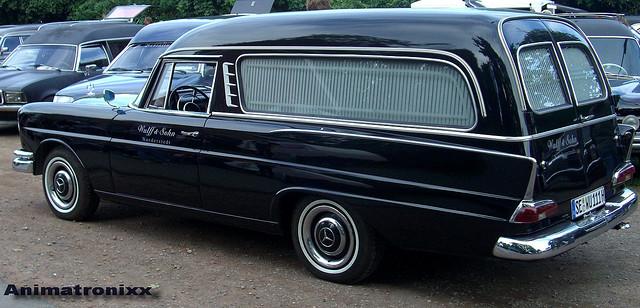 1961 Mercedes-Benz W111 Funeral Coach Pollmann Karosserie