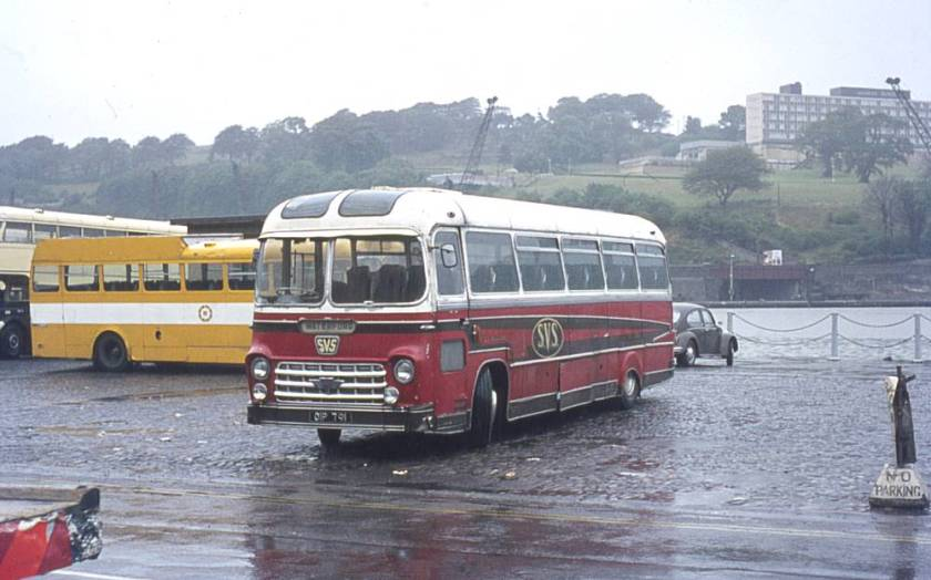 1961 OIP791, an AEC Reliance 2MU3RA with a Yeates Fiesta body