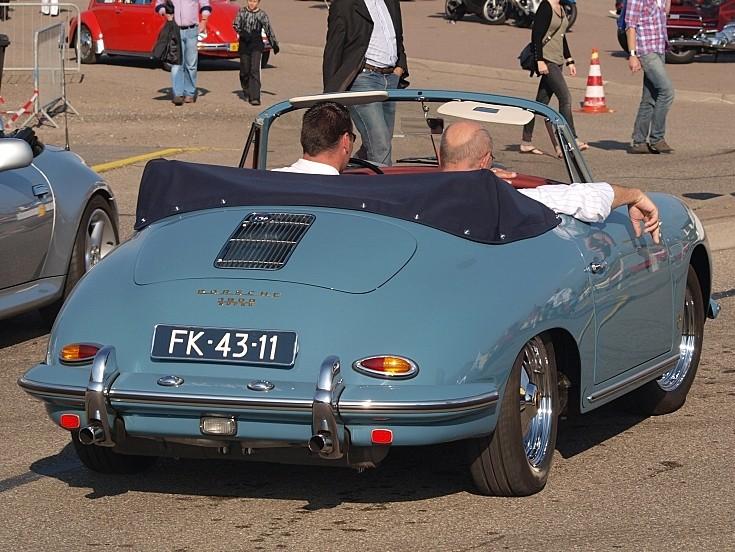1961 Porsche 356 B-1600 convertible
