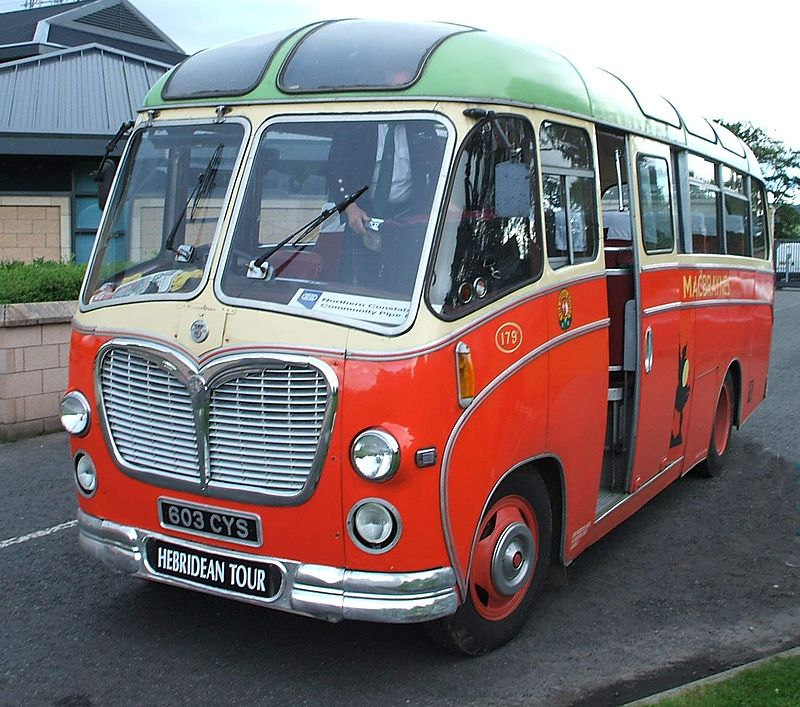 1961 Restored Bedford C + Duple body