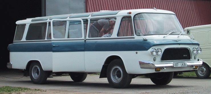 1962-70 Zil 118 Tartu Tarvo