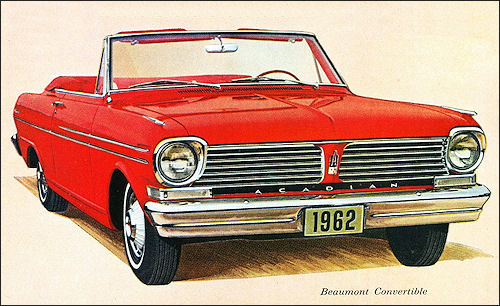 1962 Acadian Beaumont Convertible