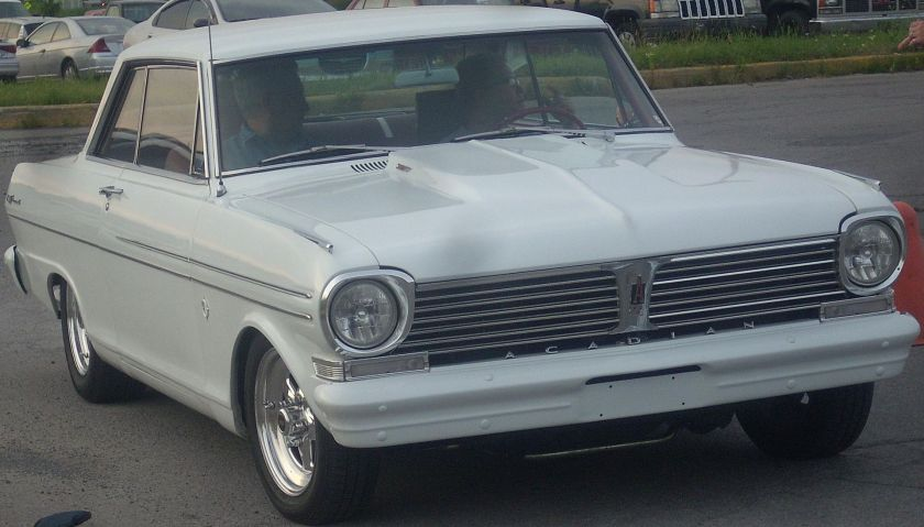 1962 Acadian Beaumont Sport Coupe a