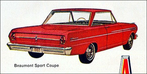 1962 Acadian Beaumont Sport Coupe