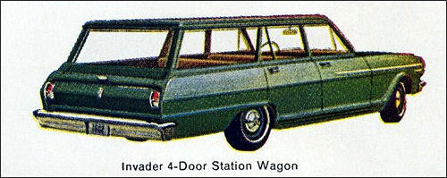 1962 Acadian Invader Station Wagon