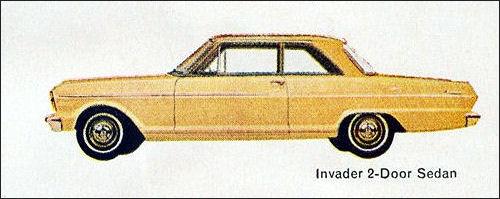 1962 Acadian Invader