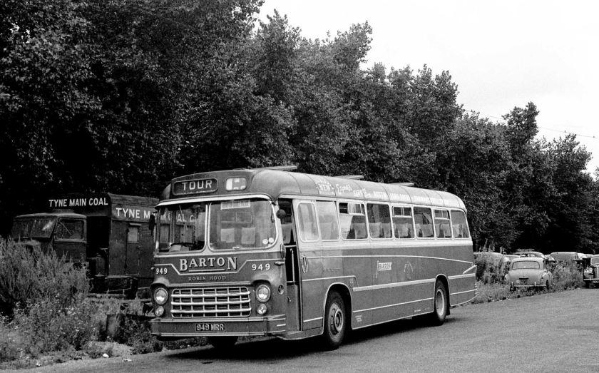 1962 Barton, Chilwell 949 949MRR 1962 AEC 2U3RA Yeates DP57F