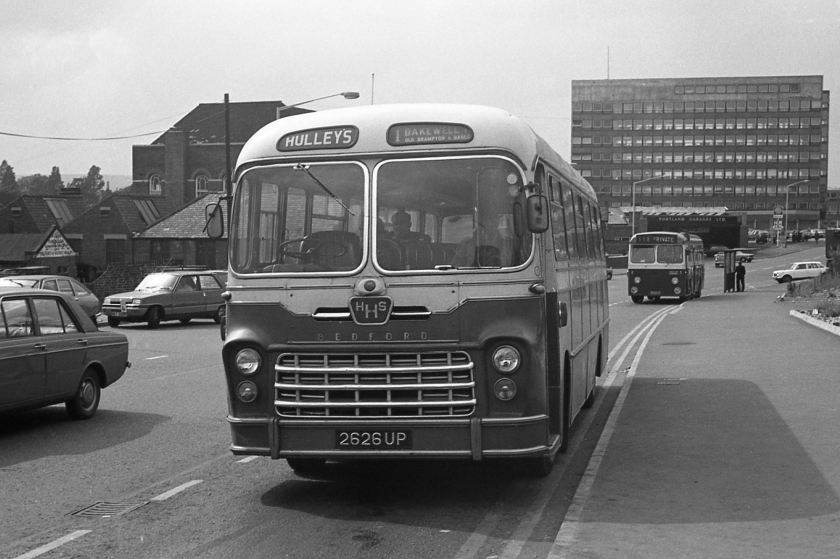1962 Its 45-seat bodywork, by Yeates, was the only example of its type I remember seeing. The chassis was a Bedford SB5